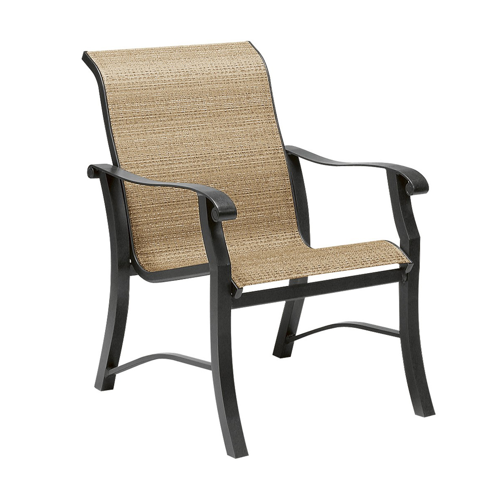 Woodard Cortland Sling Dining Arm Chair - 42H401