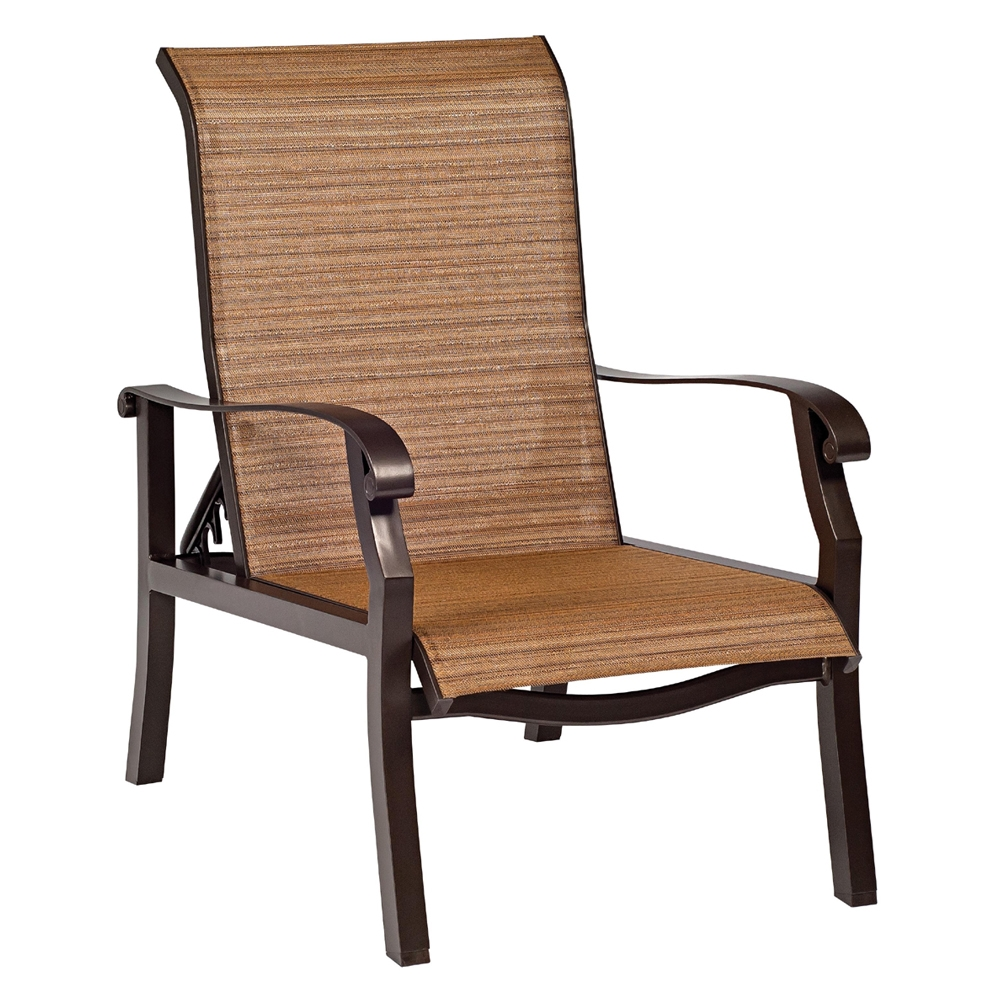 Woodard Cortland Sling Adjustable Lounge Chair - 42H435