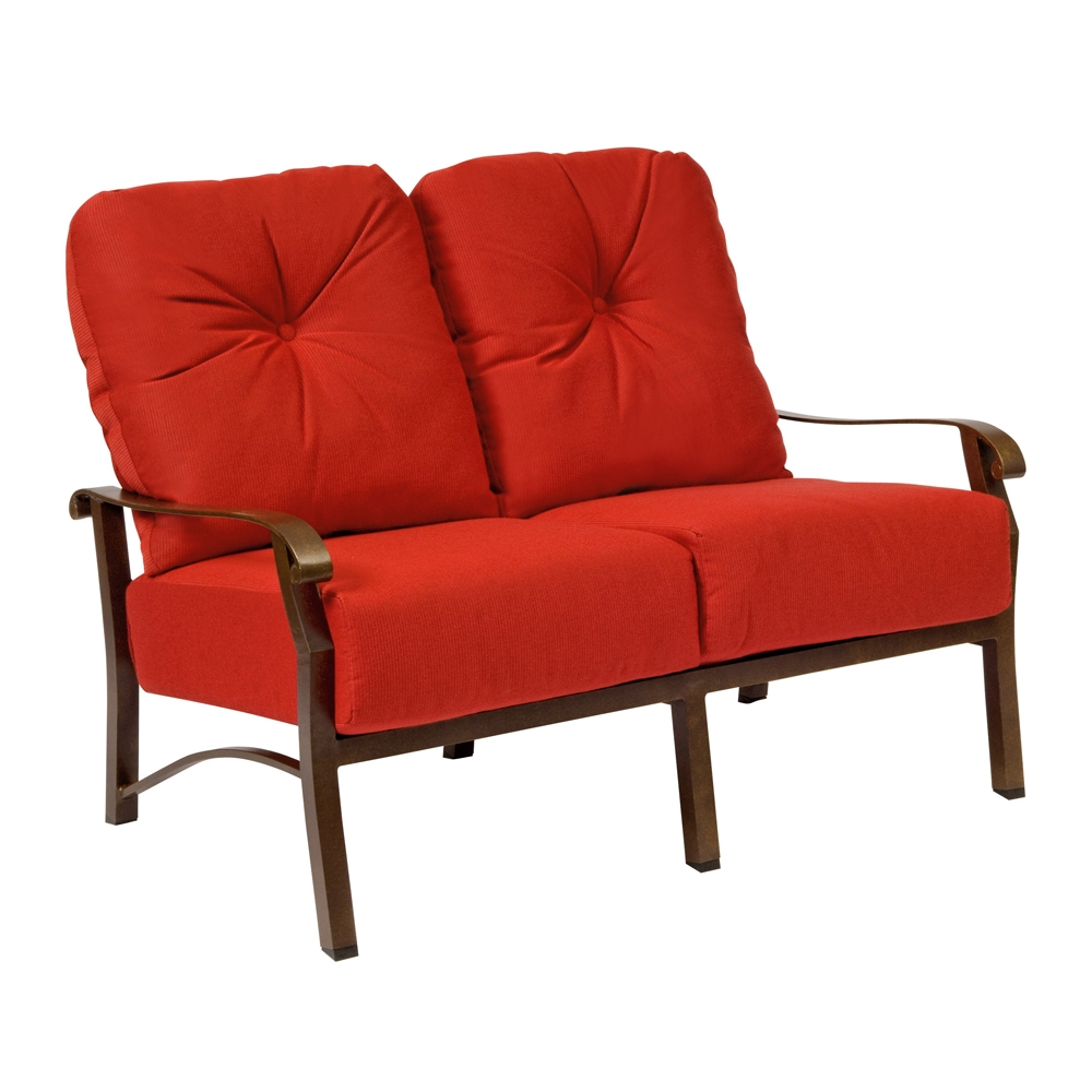 Woodard Cortland Cushion Loveseat - 4Z0419