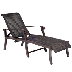 Woodard Cortland Adjustable Chaise Lounge - 5V0470
