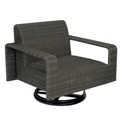 Woodard Darville Swivel Lounge Chair - S515015