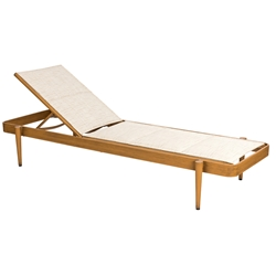 Woodard Daytona Padded Sling Chaise Lounge - Stacking - 120570