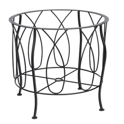 Woodard Delaney Wrought Iron Dining Table Base - 2N4800