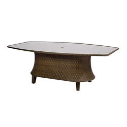 Woodard Del Cristo Oval Shaped Dining Table - 950674