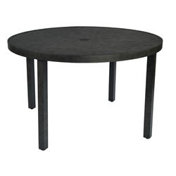 "Woodard Essential 48"" Round Dining Umbrella Table - 6Y0648"