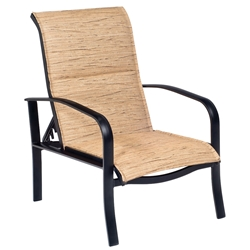Woodard Fremont Padded Sling Adjustable Lounge Chair - 2P0535