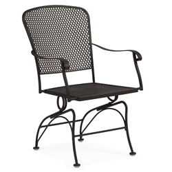 Woodard Fullerton Coil Spring Dining Arm Chair - 2Z0066