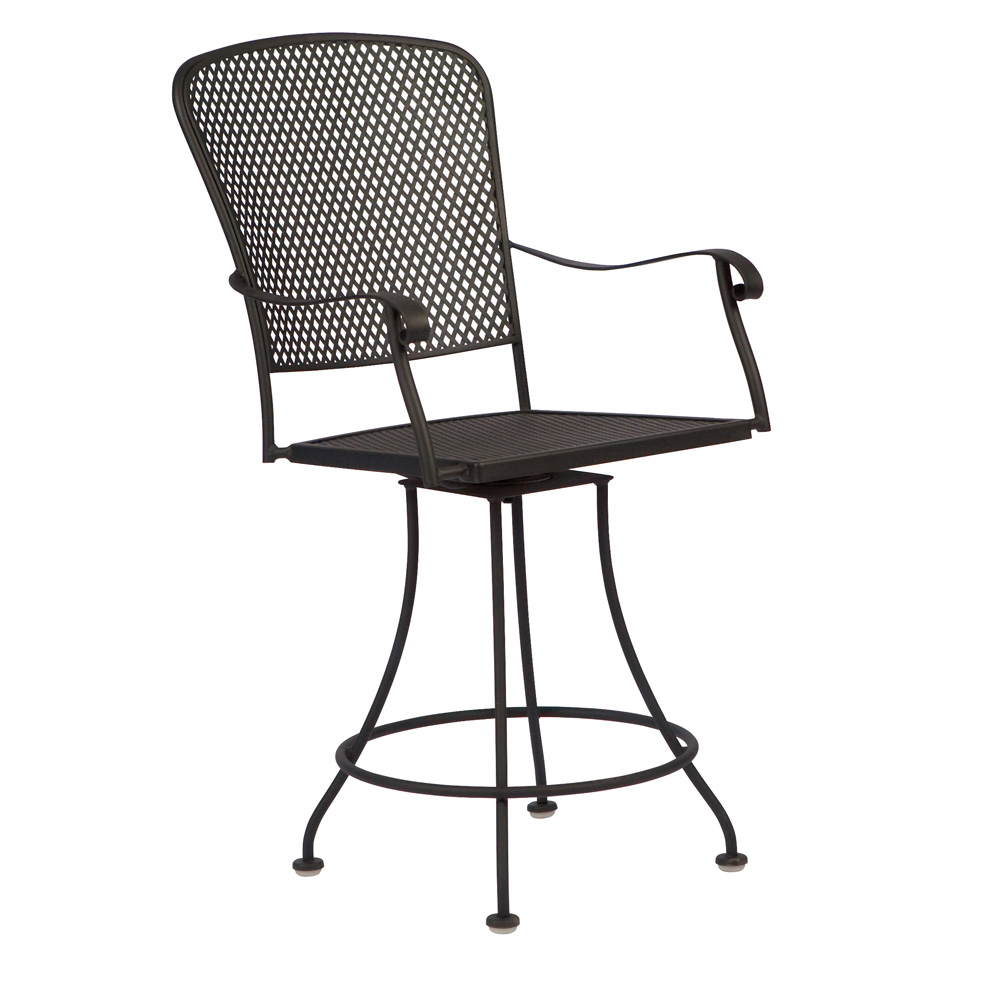 Woodard Fullerton Swivel Counter Stool - 2Z0069