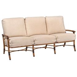 Woodard Glade Isle Cushion Sofa - 1T0420