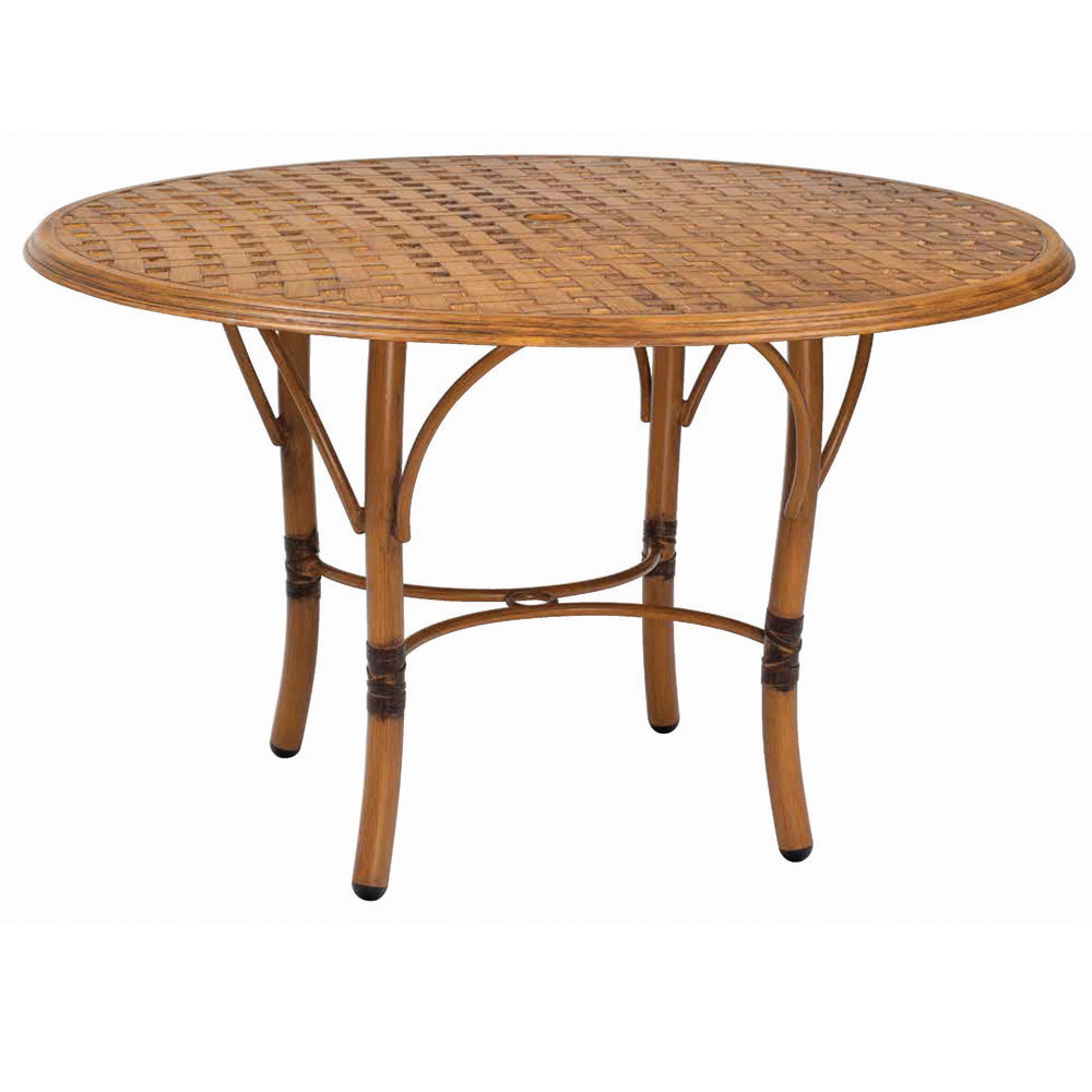 Woodard Glade Isle 48 inch Round Dining Table - 1T48BT