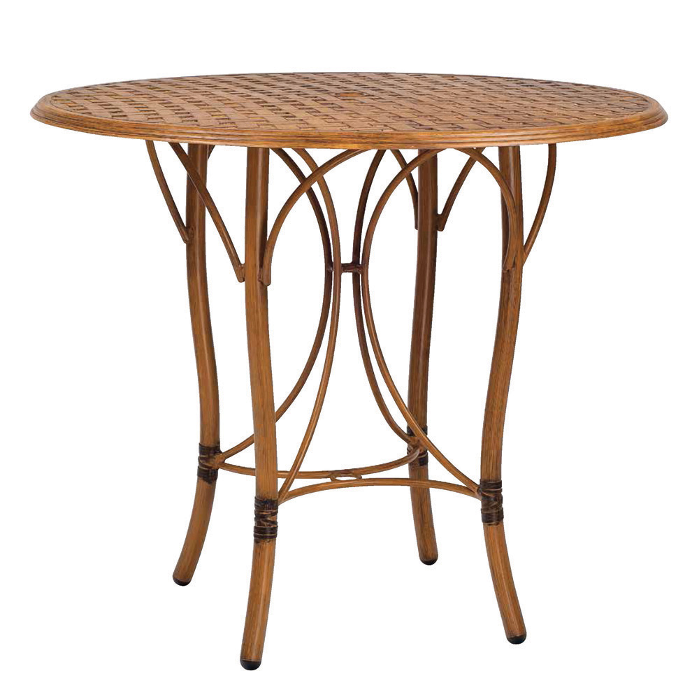 Woodard Glade Isle 42 inch Round Bar Table - 1T66BT