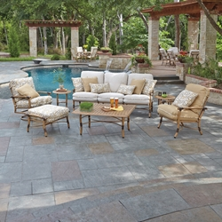 Woodard Glade Isle Cushion Patio Set - WOODARD-GLADEISLE-SET3