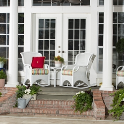 Woodard Heirloom White Wicker Furniture