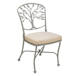 Woodard Heritage Dining Side Chair with Optional Cushion - 8F0402