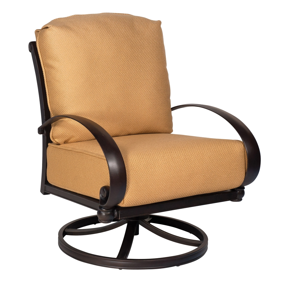 Woodard Holland Swivel Rocking Lounge Chair - 7z0477