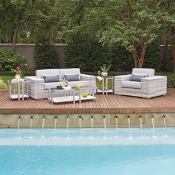 Woodard Imprint Love Seat Set - WD-IMPRINT-SET1