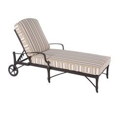 Woodard Isla Adjustable Chaise Lounge - 4N0470