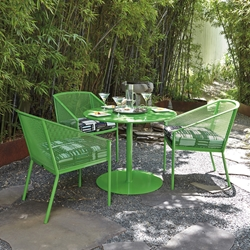 Woodard Jax 4 Piece Patio Dining Set - WD-JAX-SET4