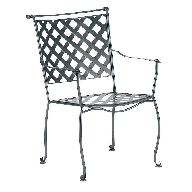 Woodard Maddox Dining Arm Chair   7F0001
