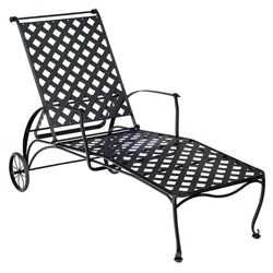 Woodard Maddox Adjustable Chaise Lounge - 7F0070