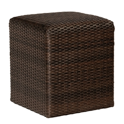 Woodard Martine Woven Reticulated Cube - S580921