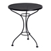 "25"" Round Mesh Top Bistro Table - 190011"