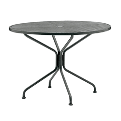 Woodard 42 inch round Premium Mesh Top RTA Umbrella Table - 190229