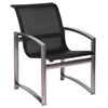 Woodard Metropolis Sling Dining Arm Chair - 320401