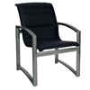 Woodard Metropolis Padded Sling Dining Arm Chair - 320501