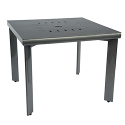 Woodard Metropolis Square 36 Inch Umbrella Table  - 32BT36