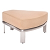 Woodard Metropolis Sectional Wedge Ottoman - 3G0450