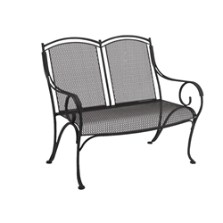 Woodard Modesto Love Seat Bench - 260004