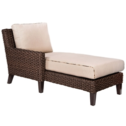 Woodard Mona Left Arm Sectional Chaise Unit - S520041L