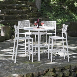 Woodard New Century 5 Piece Outdoor Bar Set - WD-NEWCENTURY-SET1