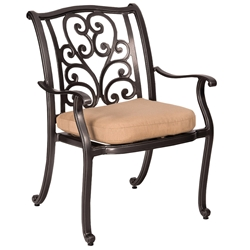 Woodard New Orleans Dining Arm Chair - 3W0417