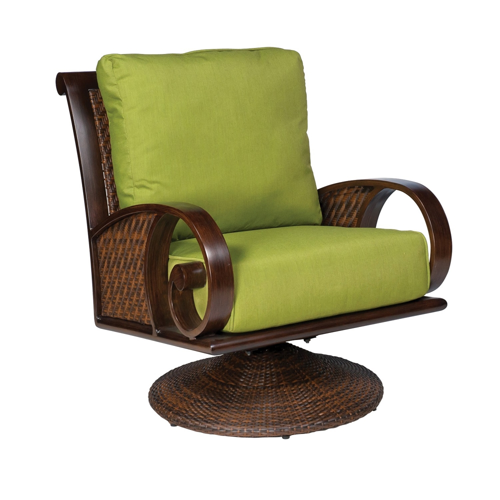 Woodard North Shore Swivel Rocking Lounge Chair - S540015