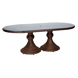 Woodard North Shore Oval Dining Table - S540704