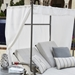 Nova Double Chaise With Canopy - 1V0770