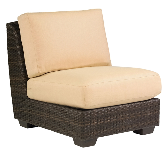 Woodard Saddleback Armless Sectional Chair - S523001