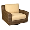 Woodard Saddleback Swivel Lounge Chair - S523015