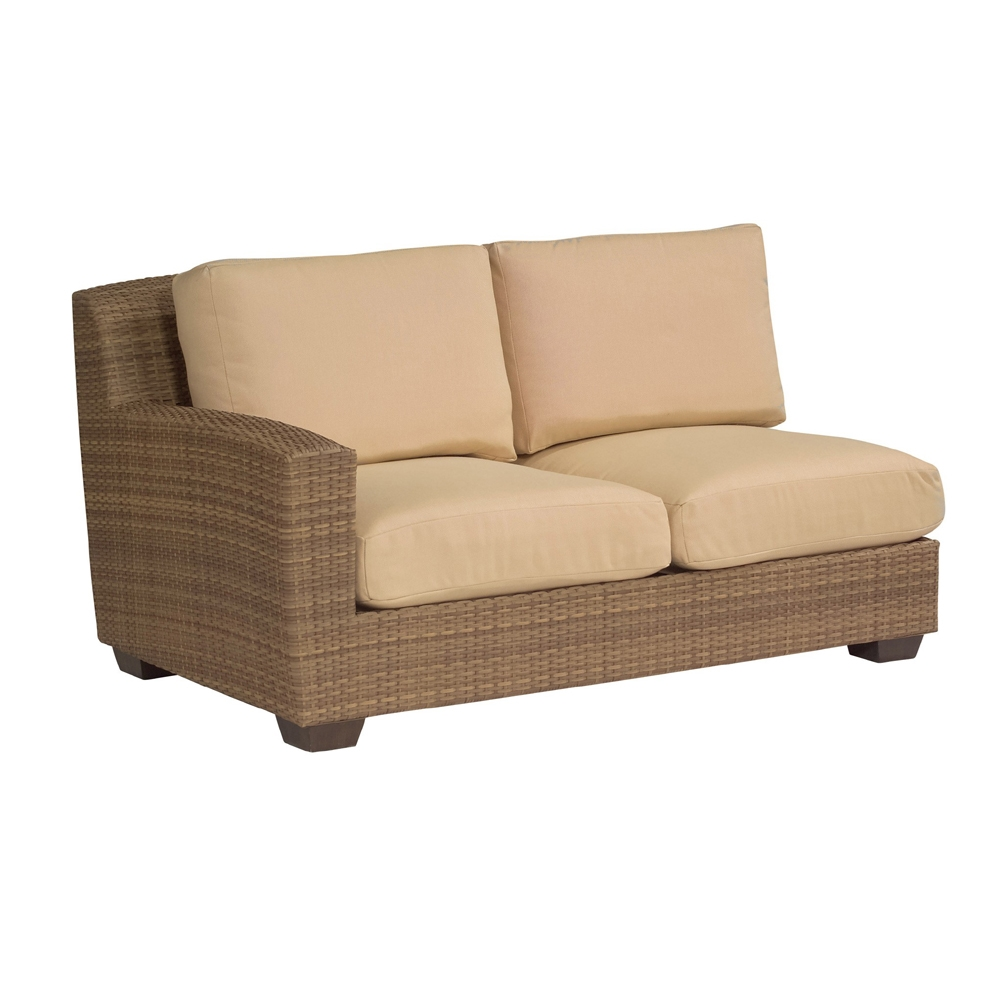 Woodard Saddleback Left Arm Facing Loveseat - S523021L