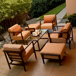 Woodard Salona Lounge Chair Set - WD-SALONA-SET2