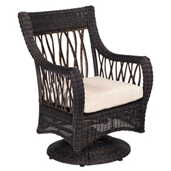 Woodard Serengeti Swivel Rocker - 910072
