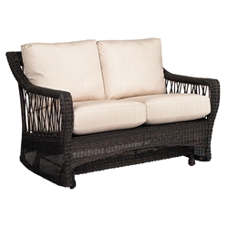 Woodard Serengeti Gliding Loveseat - 910073