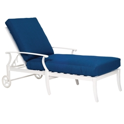 Woodard Sheridan Adjustable Chaise Lounge - 9N0470