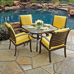 Woodard Sheridan Patio Dining Set for 4 - WD-SHERIDAN-SET1