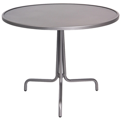Woodard 36 Inch Round Solid Top Bistro Table - 1A0022