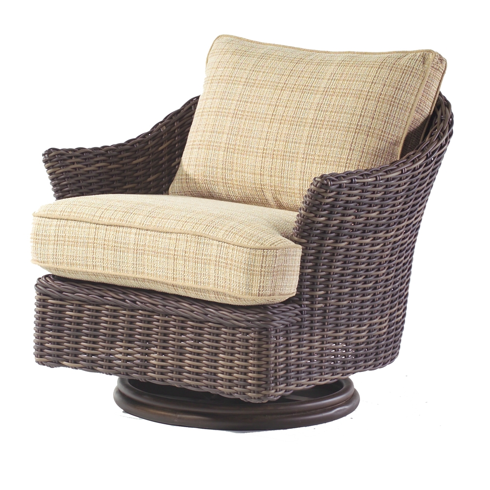 Woodard Sonoma Swivel Lounge Chair - S561015