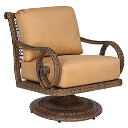 Woodard South Shore Swivel Rocking Lounge Chair - 640077V