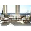 Woodard South Terrace 6 Piece Patio Set - WHITECRAFT-SOUTHTERRACE-SET4